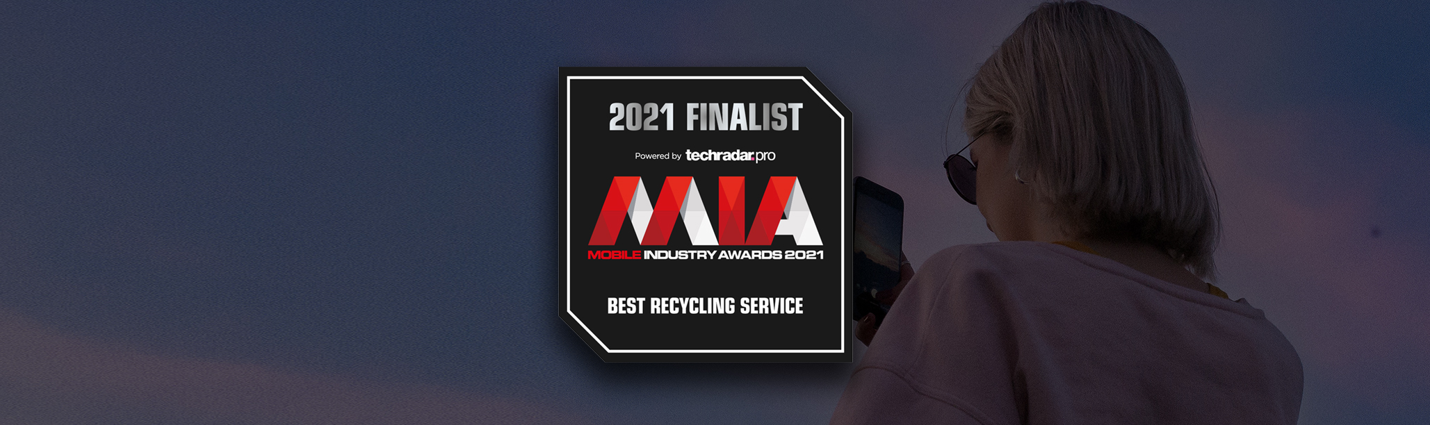 We've been</br> shortlisted!